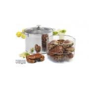 Stock Pot W/Wire Basket W/LID